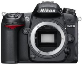 Nikon D7000 schwarz Gehäuse (VBA290AE)