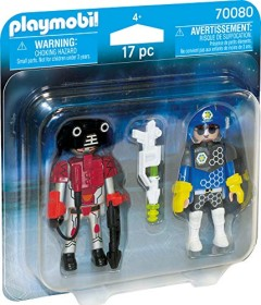 playmobil Space - Duo Pack Spacepolizist und Ganove (70080)