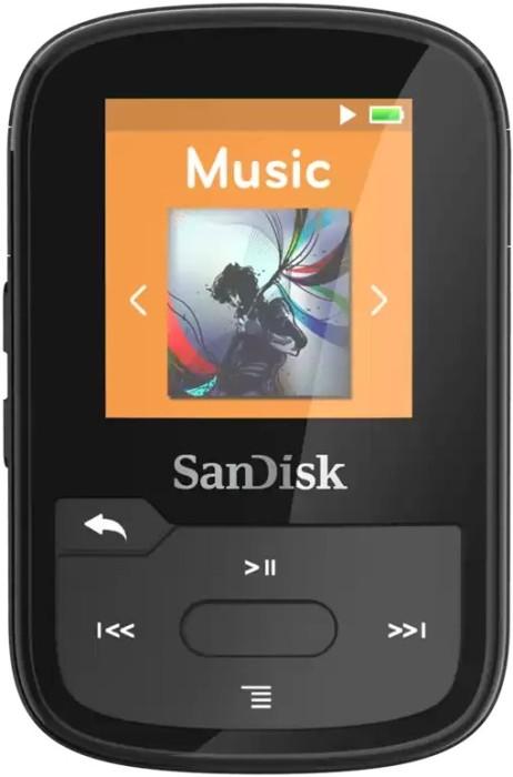 SanDisk Sansa Clip Sports Plus 16GB black