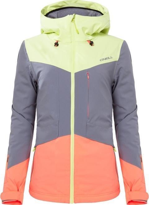 wholesale dealer 06560 6eef4 O'Neill Segment Skijacke sunny lime (Damen)   heise online ...