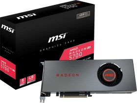 MSI Radeon RX 5700 8G, 8GB GDDR6, HDMI, 3x DP (V803-891R)