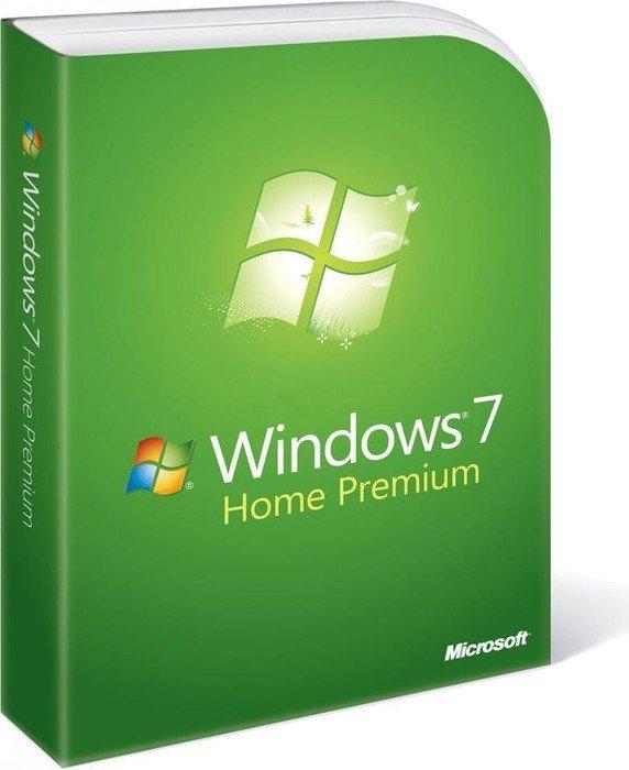 Microsoft: Windows 7 Home Premium 64Bit inkl. Service Pack 1, DSP/SB, 1er-Pack (dänisch) (PC) (GFC-02048)