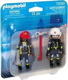 playmobil City Action - Duo Pack Feuerwehrmann und - frau (70081)