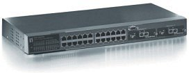 "Level One ProCon 19"" L2/L3 SNMP, 24-Port (GSW-2471TX)"