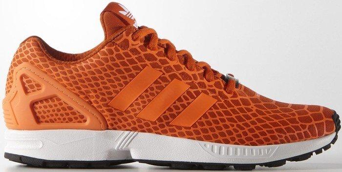 adidas ZX Flux Techfit collegiate orangesolar orangeftwr white (Herren) (S75489) ab € 54,95