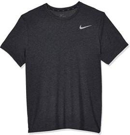 Nike Breathe Shirt kurzarm black heather/metallic hematite (Herren) (AJ8002-032)