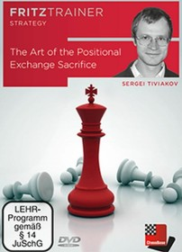 Chessbase The Art of the Positional Exchange Sacrifice (englisch) (PC)