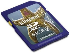 Kingston Ultimate 133x SDHC 64GB, Class 6 (SD6/64GB-U)