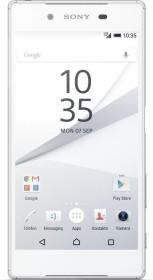 Sony Xperia Z5 Dual silber/weiß