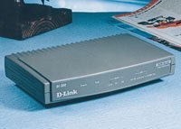 D-Link DI-300M Remote Bridge/Router, ISDN, 1 x 10/100, IP+IPX