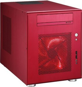 Lian Li PC-Q08R red, mini-DTX/mini-ITX