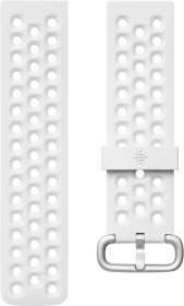 Fitbit Ersatzarmband Sport S für Versa 2 frost white (FB171SBWTS)