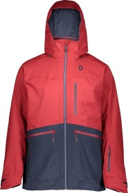 Scott Ultimate DRX Skijacke wine red/blue nights (Herren) (272503-6282)