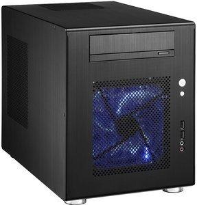 Lian Li PC-Q08B schwarz, Mini-DTX/Mini-ITX