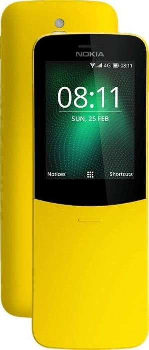 Nokia 8110 4G Dual-SIM gelb