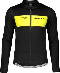 Scott RC Warm Hybrid WB Fahrradjacke black/sulphur yellow (Herren) (271573-5024)