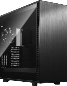 Fractal Design Define 7 XL Dark Tempered Glass Black, schallgedämmt, Glasfenster (FD-C-DEF7X-03)