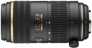 Pentax lens smc DA 60-250mm 4.0 ED IF SDM (21750)