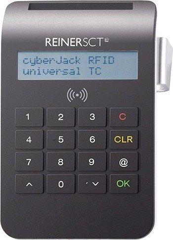 Reiner SCT cyberJack universal RFID-Cardreader, USB 2.0 Micro-B [Buchse] (2718800-102)