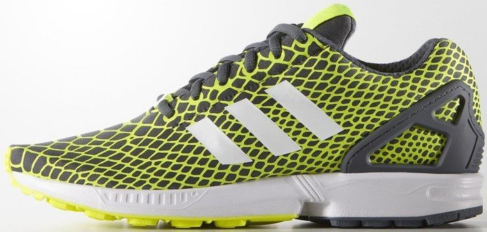 huge selection of c72c0 4e8d5 adidas ZX Flux Techfit solar yellow/white/onix (men) (B24934) from £ 39.95