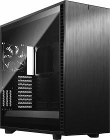 Fractal Design Define 7 XL Light Tempered Glass Black, schallgedämmt, Glasfenster (FD-C-DEF7X-02)
