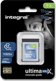 Integral ultima PRO X2 R1700/W1600 CFexpress 2.0 Type B 1TB (INCFE1TB1700/1600)