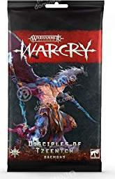 Games Workshop Warhammer Age of Sigmar Warcry - Karten der Disciples of Tzeentch (99220201012)