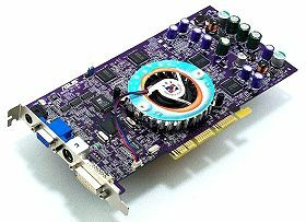 ASUS AGP-V8440/TD, GeForce4 Ti4400, 128MB DDR, DVI, TV-out, AGP