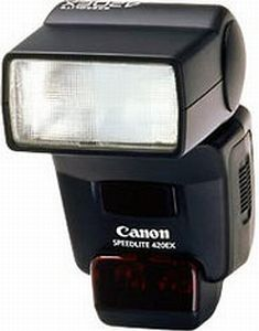 Canon Speedlite 420EX flash (4590A010)