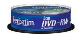 Verbatim DVD-RW 1.4GB 2x, 10er Jewelcase (43640)