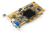 ASUS AGP-V8170DDR/T, GeForce4 MX440, 64MB DDR, TV-out, AGP