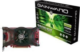 Gainward BLISS GeForce 9600 GT Green Edition, 1GB DDR3, VGA, DVI, HDMI (0537)
