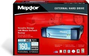Maxtor External Pamięć masowa 5000DV 160GB, USB2.0/FireWire (T14P160)