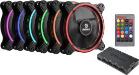 Enermax T.B.RGB, 120mm, 6er-Pack, LED-Steuerung, Fernbedienung (UCTBRGB12-BP6)