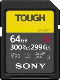 Sony SF-G Tough Series R300/W299 SDXC 64GB, UHS-II U3, Class 10 (SF64TG/SF64GT/SF-G64T)