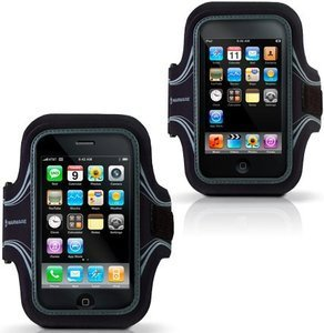 Marware Eco Runner sport wristlet for iPod touch 2G/iPhone black