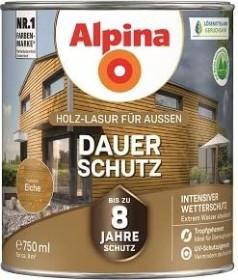 Alpina Farben Dauer-Schutz Holz-Lasur außen Holzschutzmittel eiche, 750ml