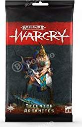 Games Workshop Warhammer Age of Sigmar Warcry - Karten der Tzeentch Arcanites (99220201011)