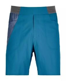 Ortovox Piz Selva Hose kurz blue sea (Herren) (62653)