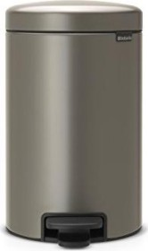 Brabantia Newicon Treteimer Mülleimer Kunststoffeinsatz Platinum 12 L 113628