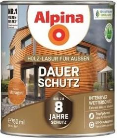 Alpina Farben Dauer-Schutz Holz-Lasur außen Holzschutzmittel mahagoni, 750ml