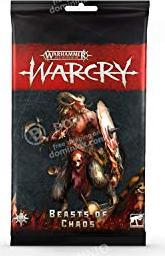 Games Workshop Warhammer Age of Sigmar Warcry - Karten der Beasts of Chaos (99220216002)