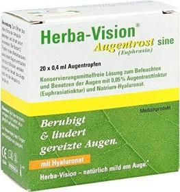 Herba-Vision Augentrost sine Augentropfen, 8ml (20x 0.4ml)