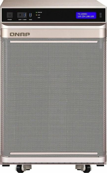 QNAP Turbo station TS-2888X, Intel Xeon W-2123, 32GB RAM regECC, 2x 10GBase, 4x Gb LAN (TS-2888X-W2123-32G)
