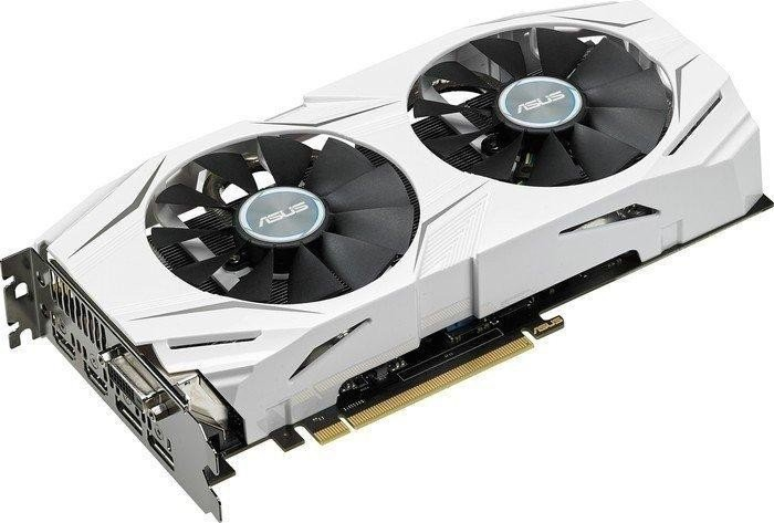 ASUS Dual Radeon RX 480 OC, DUAL-RX480-O8G, 8GB GDDR5, DVI, 2x HDMI, 2x DisplayPort (90YV09I2-M0NA00)