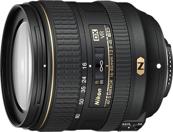 Nikon AF-S DX 16-80mm 2.8-4.0E ED VR black (JAA825DA)