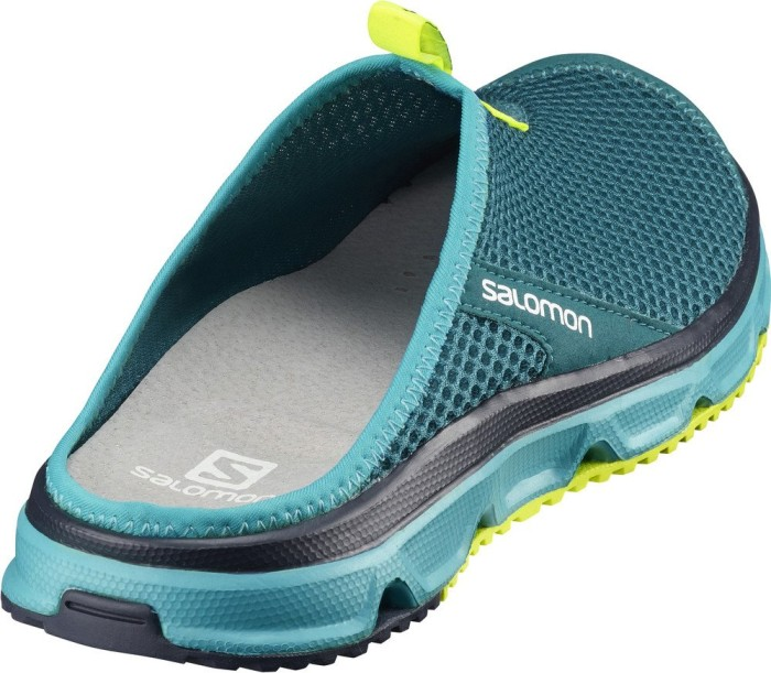 Salomon RX Slide Slide Slide 3.0 deep lagoon Blaubird safety yellow ab   42,40 ... 001fe4