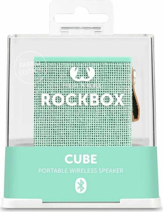 Fresh 'n Rebel Rockbox Cube Fabriq Edition grün (1RB1000AR) -- via Amazon Partnerprogramm