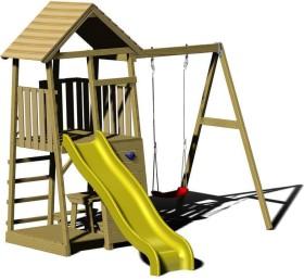 Wendi Toys Spielturm Pelikan mit Rutsche, Schaukel und Kletterwand (WTJ7)