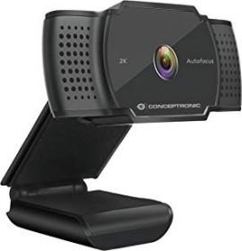 Conceptronic Amdis 2K-Super-HD-Autofokus-Webcam (AMDIS02B)